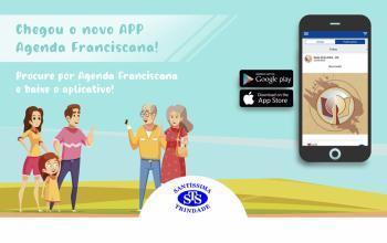 Conheça o App Agenda Franciscana