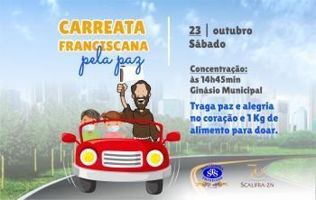 Carreata Franciscana pela Paz   23/10