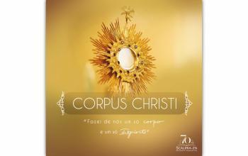 Hoje celebramos Corpus Christi