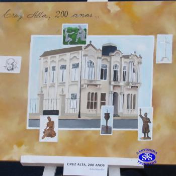 Exposição 200 anos em tela