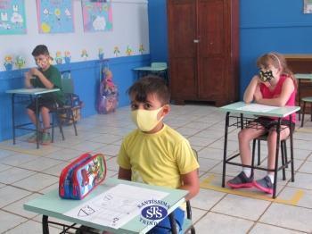 Aulas presenciais - Educação Infantil