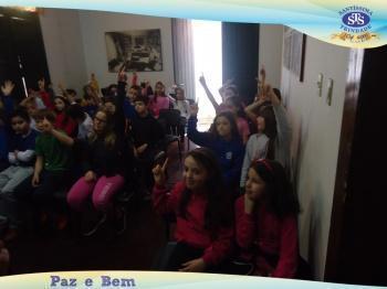 3º ano: palestra no Museu