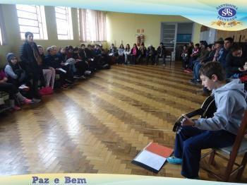 6º ano 3 Visitou a Escola Santo Antônio