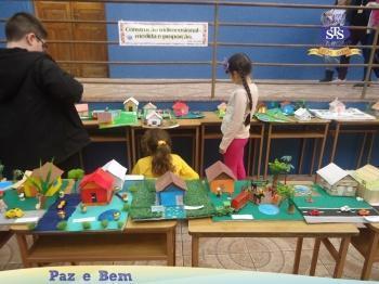 Exposição de Artes dos alunos do 5º ano