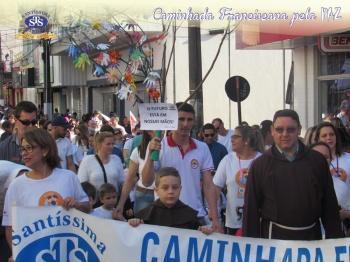 Caminhada Franciscana pela Paz