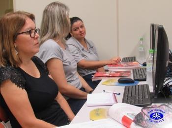 Professores participaram de capacitação