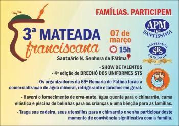 3ª Mateada Franciscana