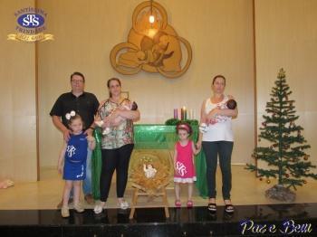 Celebração de Natal com Profissionais STS e APM