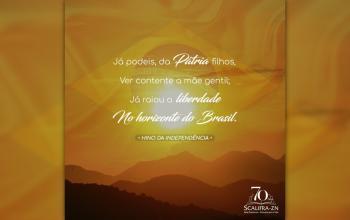 Hoje comemoramos o Dia da Independência do Brasil