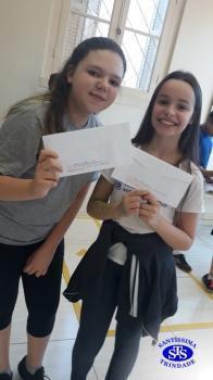Alunos do 5º ano realizaram visita ao correio