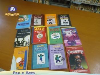Novos títulos na Biblioteca