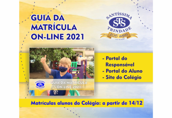 GUIA DA MATRÍCULA ON-LINE 2021