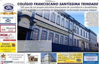 Aniversário do Colégio no Jornal Diário Serrano