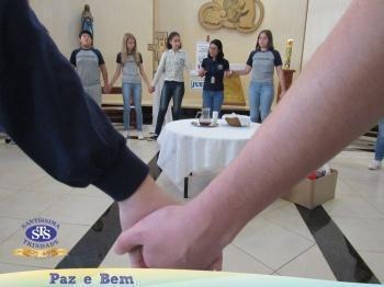 Ceia Pascal - 1ª 2, 8º 1, 7º 3 e 9º 2