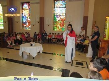 Ceia Pascal com os alunos do Nível A2