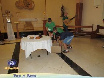 5º 2 e 5º 1 - Ceia Pascal