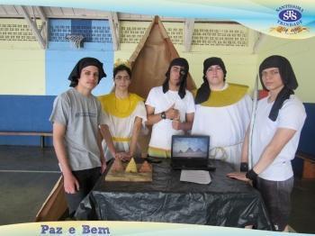 1ª série EM - Mostra do Egito