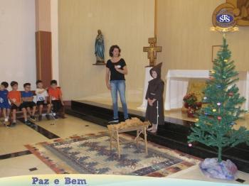 1º ano 1 e 1º ano 3 - Celebração de Natal