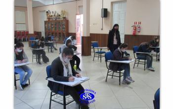 Teste Vocacional com alunos da 3ª série - Ensino Médio