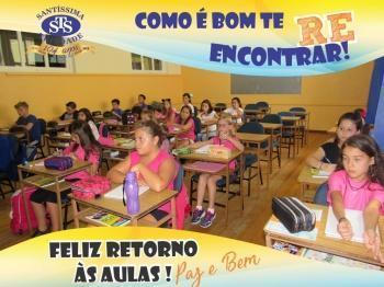Início das aulas Ensino Fundamental e Médio