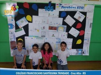 3º ano EF - Bolo de Aniversário para o STS