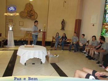 Ceia Pascal - 8º 2, 9º 1 e 2ª série EM