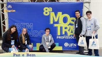 1ª série EM - Mostra Profissões UFN