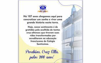 Parabéns, Cruz Alta!