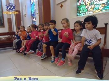 Ceia Pascal com os alunos do Nível A1