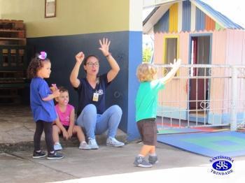 Educação Infantil retornou às aulas hoje
