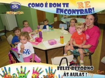 Início das aulas Educação Infantil