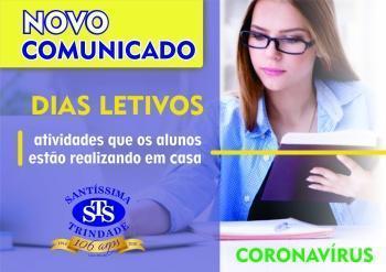 Novo Comunicado - Dias Letivos
