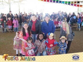 FESTA JUNINA STS, no Santuário Nossa Senhora de Fátima, às 14h30min.