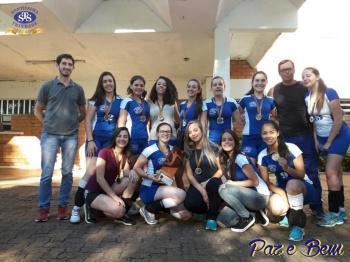 Parabéns, atletas do voleibol feminino !