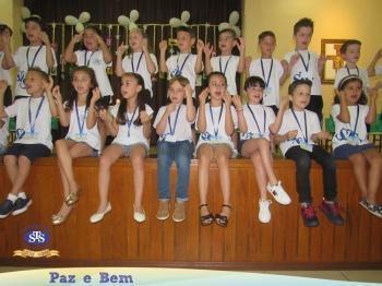 Nível B - Celebração de Conclusão da Educação Infantil