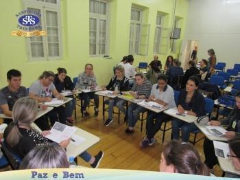 Reunião Capacitação Professores