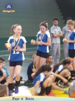 Parabéns, atletas de Voleibol STS
