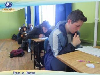 Ensino Médio participou de Simulado