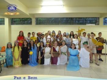 6º ano - Festa do Olimpo