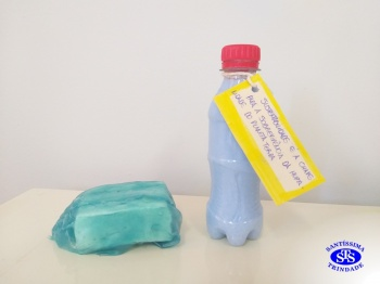 Oficina sabão e plástico - 8º ano