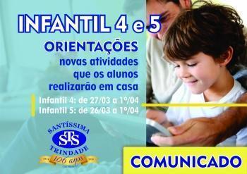 Pais Infantil 4 e 5