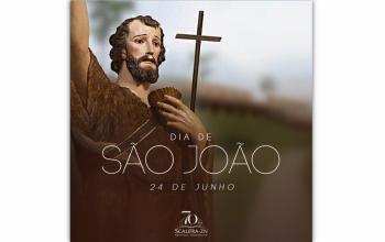 Hoje celebramos São João Batista