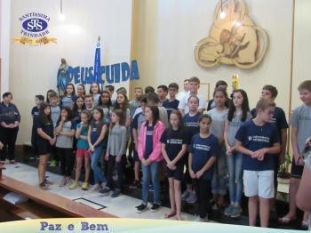 Celebração Eucarística na Capela do Colégio - 17h45min