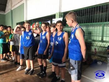 Parabéns, atletas do basquete !