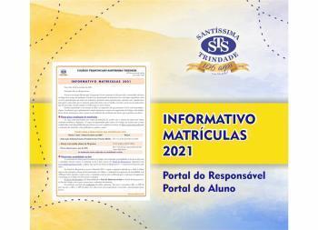 Informativo Matrículas 2021