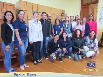 I.r Dirce Limberger visitou o Colégio