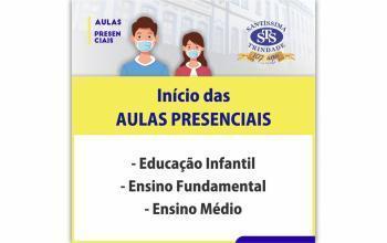 Retorno às aulas presenciais: Educação Infantil ao Ensino Médio