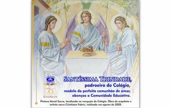 Hoje celebramos a Solenidade da Santíssima Trindade