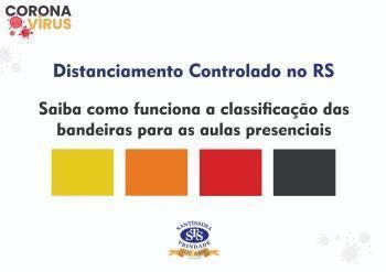 Classificação das bandeiras e aulas presenciais